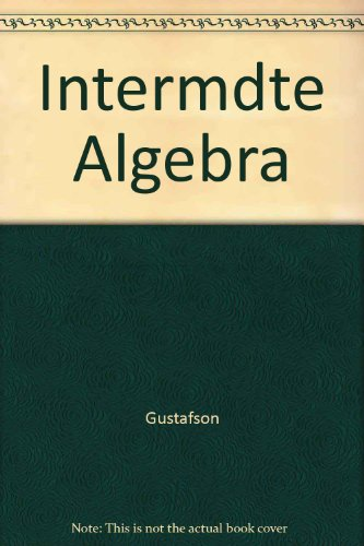 Intermdte Algebra