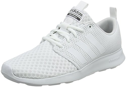 adidas Herren Cloudfoam Swift Racer Laufschuhe, Weiß (Footwear White/Rose Crystal White/Carbon 0), 42 EU