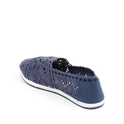 Chaussures Idéal, Mocassins Pour Femme Marine