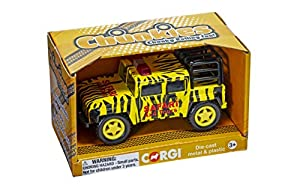 Corgi CH010 Chunkies Off Road Safari, Amarillo/Negro