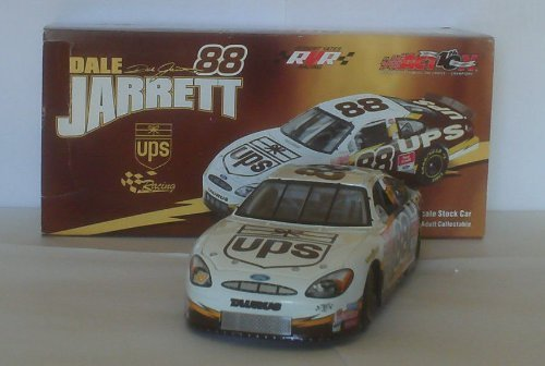 Action - NASCAR - Dale Jarrett #88 - 2002 Ford Taurus - UPS Racing Paint Scheme - 1:24 Scale - Die Cast Stock Car - Limited Edition - Collectible by Action (24 Cars Nascar 1 Diecast)