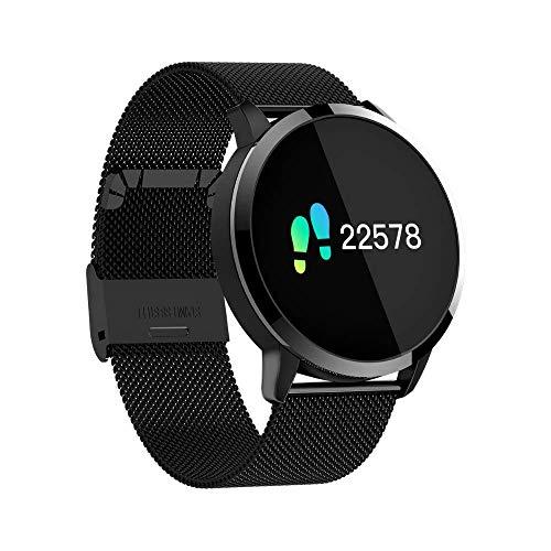 ZXRSH ZXRSH Smart Watch Bluetooth Smart Watch Edelstahl wasserdicht tragbares Gerät Smartwatch Armbanduhr Männer Frauen Fitness Tracker