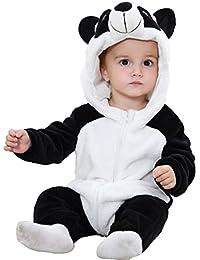 2a04425617 GWELL Kinder Baby Tier Kostüme Tieroutfit Cosplay Jumpsuit Schlafanzug  Mädchen Jungen Winter Nachtwäsche Strampler