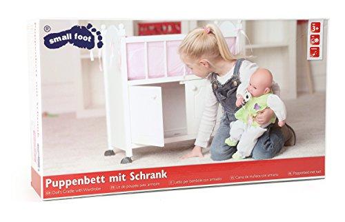 Small Foot Company - Letto per Bambole con Armadio