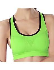 412c7959fa6e50 SHEKINI Reggiseno Sportivo Imbottito da Donna Reggiseni Sportivi da Fitness  Yoga Ginnastica Corsa Jogging · Vedi opzioni Taglia & Colore