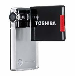 "Toshiba Camileo S10 Caméscope Haute définition 5 Mpixels Zoom numérique 4x Ecran LCD rotatif 2.5"""