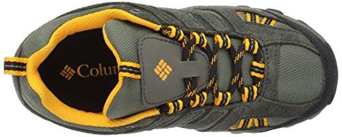 Columbia Youth North Plains, Chaussures Multisport Outdoor Garçon Marron (Cypress, Super Solarize 316)