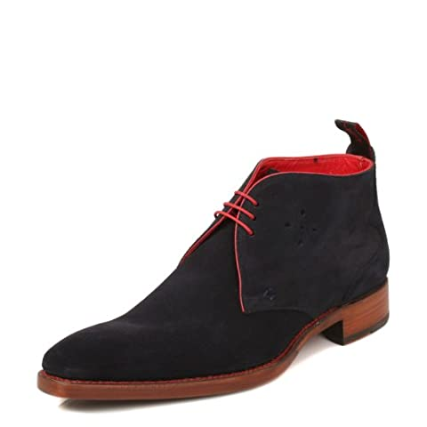 Jeffery West Dexter Navy Chukka Boots -UK 9