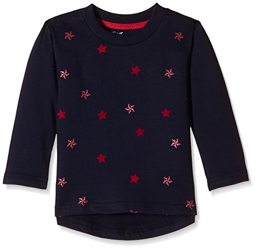 Gini & Jony Baby Girls' Sweater (112070860744 1129_Peacoat_9-12 months)