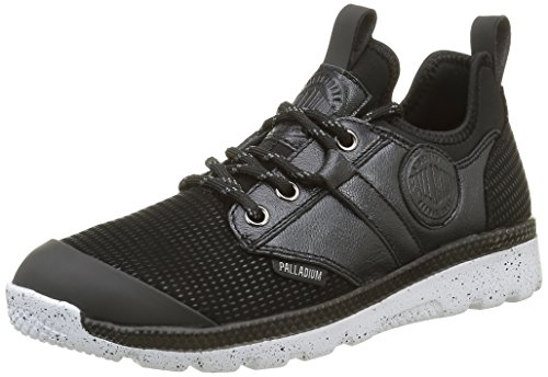 Palladium Plvil Mid Gl F, Baskets Basses Femme Noir (315 Black)