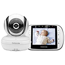 Motorola MBP36S Video Baby Monitor with 3.5-Inch Screen