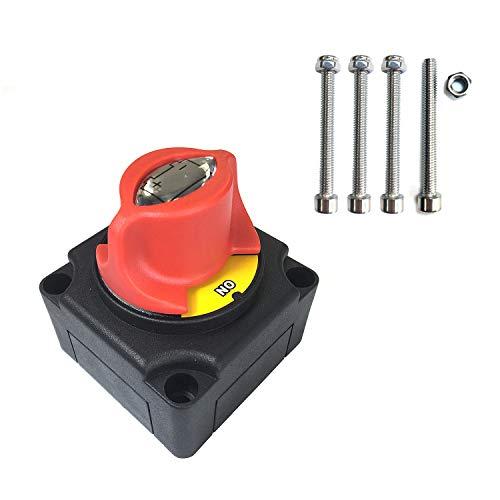 Interruptor de aislamiento de batería de Wiwir,, 2 potations Interruptor Selector aislamiento...