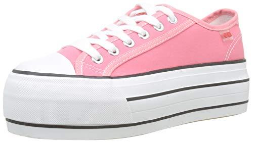 COOLWAY Damen Grease Sneakers, Pink (Pnk 810), 40 EU (Grease Pink Damen Schuhe)