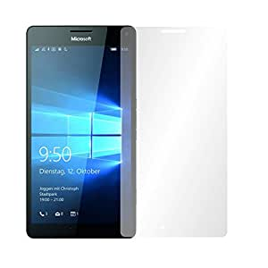 """4 x Slabo Film de protection d'écran Microsoft Lumia 950 XL protection écran film de protection film """"Ultra Clair"""" invisible MADE IN GERMANY"""