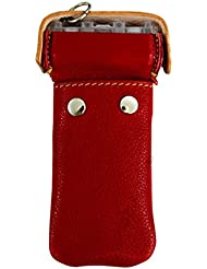 Fit container leather cosmo darts roja