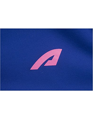 aparso Damen Softshell Funktion Übergangsjacke mit Kapuze und Fleece-Innenfutter (L, Blau) - 5