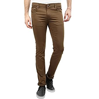 Donear NXG Green Coloured Flat Front Casual Men's Trousers
