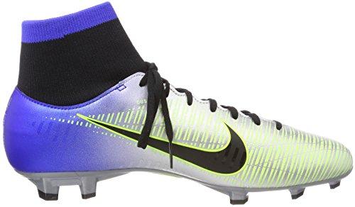 La Vittoria Mercuriale Di Nike Maschile Vi Df Njr Fg Scarpe Da Calcio Blu Blu (blu Scuro Nero Cromato Volt 407)