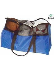 Safari Ball Carrying Bag - Holds 8 - 10 Balls (Football, Netball Etc.)