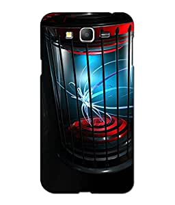 Crazymonk Premium Digital Printed 3D Back Cover For Samsung Galaxy J7
