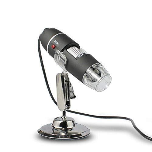 EGCLJ Lupa 2 En 1 - Microscopio Digital De Alta Resolución - Lupa 50-500X - Lupa para Endoscopio Digital