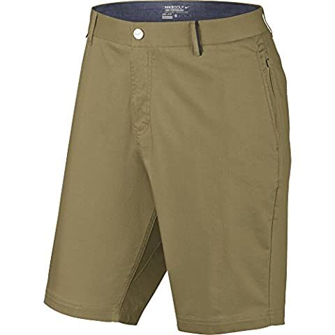 Nike Modern Washed Fit Short pour homme Multicolore Khaki / Azul / Gris 34