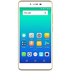 Micromax Spark 4G VOLTE(12.7cm) 5 inch Android Mobile Phone, Champagne
