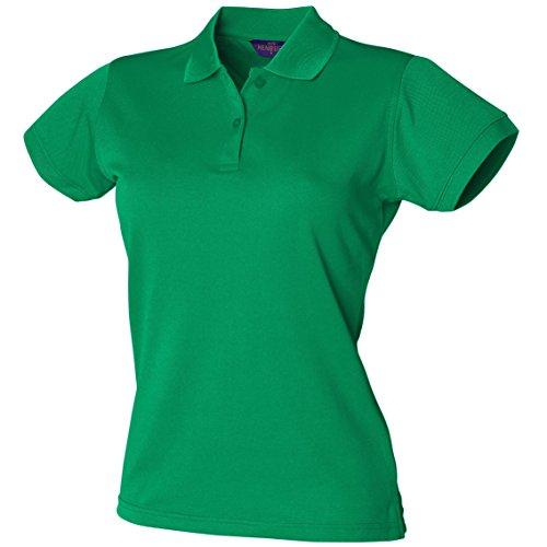 Coolplus® polo féminin Kelly vert