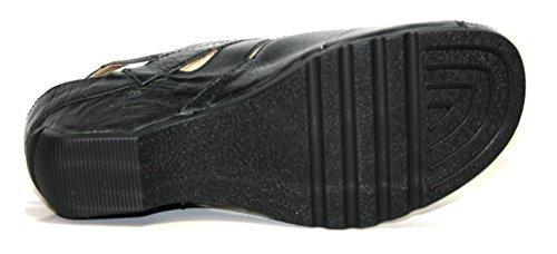 Theresia Muck - Gill 54112.250.000 Damen Schuhe Sandalen Schwarz