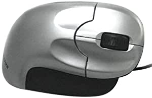 Kondanator Upright Mouse - Mouse - optical - wired - USB - silver, so...
