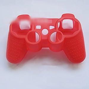 Ricisung Schutzhülle für Playstation 3 PS3 Controller, Silikon, Camouflage/Mehrfarbig