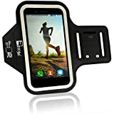 Samsung Galaxy S10 Plus / S9 Plus / S8 Plus Running Armband. Sports Phone Holder Case for Runners, Exercise & Gym Workouts (Small - Large Arms)