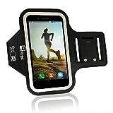 RevereSport Sportarmband für Samsung Galaxy Plus S9 / S8. Armband Telefon Handyhalter Case für Laufen, Workout, Joggen und Fitness