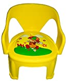 #5: Blossoms Multipurpose Small Chair For Kids Baby (Yellow)
