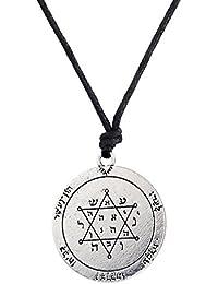 b9b56ed92b8 Skyrim Elegante Slavi Kolovrat Talisman Pagan Unisex amuleto Ciondolo  Collana