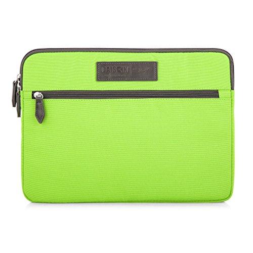 CAISON 38,1cm Designer Klassische Schutzhülle Laptop Sleeve Notebook Tasche Beutel für Apple 38,1cm MacBook Pro mit Retina Display Schutzfolie Cover (Grün) -