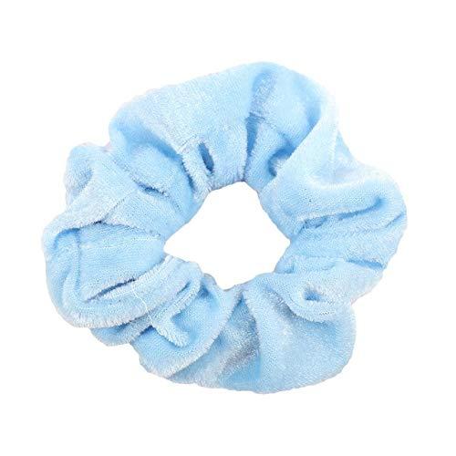 (Shoppy Star 3 Stück Samt Elastische Bänder für Mädchen Haargummis Frauen Solid Hair Sopes Haarbänder Weibliche Haar Zubehör Lieferant: 308)