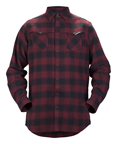 Sweet Protection Herren Shirt Flannel Ron Red, S (Carbon Freeride Ski)
