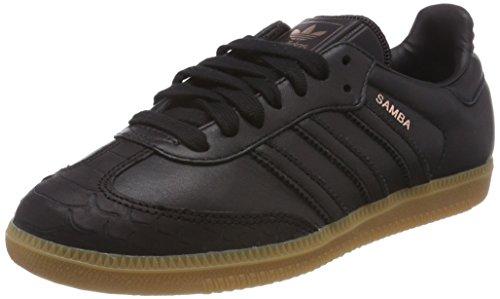 adidas Damen Samba Fitnessschuhe Schwarz Negbas / Gum4 000, 41 1/3 EU