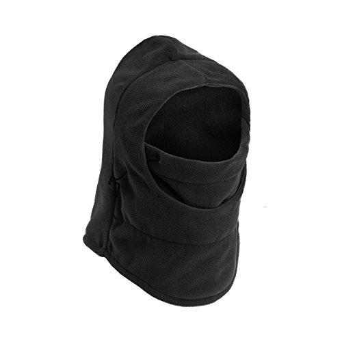 6 in 1 Thermal Fleece Sturmhaube Balaclava, winddichte Skimaske für Sport und Outdoor - Not Just A Gadget (Haube Balaclava)