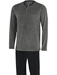 IMPETUS Pijama veludo - Bahru, 4554E03. Algodón, Color Gris, Talla L
