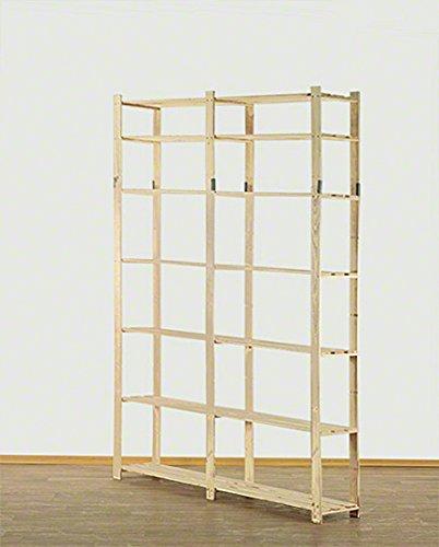 per Cantine : 50 x 170 x 28 cm MODO24 B-04 A x L x P Serie B Scaffalatura in Legno Magazzini Libri