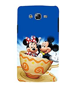 printtech Mickey Minnie Mouse Back Case Cover for Samsung Galaxy Core 2 G355H