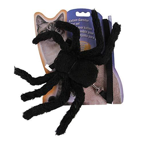 Passenden Kostüm Lustig - FZ FUTURE Halloween Lustiges Haustier Kostüm, Simulation Plüsch Spinne kleiden Nettes Cosplay, für Halloween, Partys, Feste-Größe Passend Mit Zugseil,B