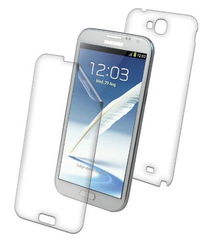 ZAGG invisibleSHIELD® ORIGINAL Schutzfolie für Samsung Galaxy Note II - Full Body (Bildschirm & Rückseite) (Zagg 2 Note Galaxy Samsung)