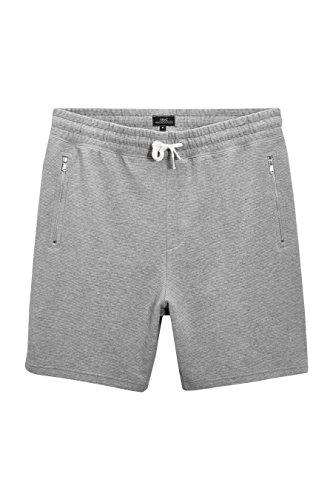 Cargo-jersey-shorts (next Herren Strukturierte Jersey-Shorts Normale Passform Grey L)