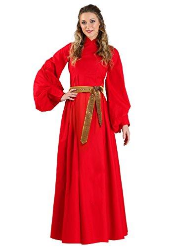 Prinzessin Braut Buttercup Red Dress Kostüm - M