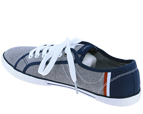 Pepe Jeans Aberman Court, Sneakers Basses Homme 564 chambray