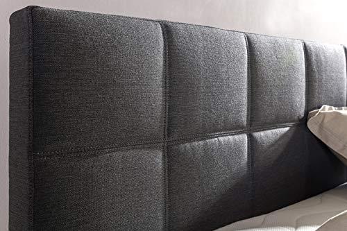 Furniture for Friends Boxspringbett Bea inkl Visco-Topper, 7-Zonen Taschenfederkern-Matratze, Hotelbett Doppelbett