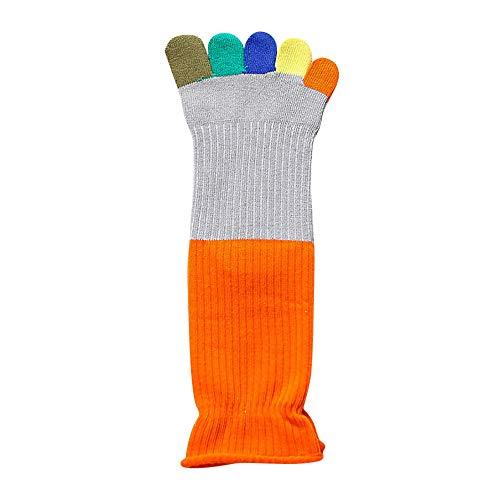 iHAZA Frauen Wärmer Bunte Zehensocken Fünf Finger Socken Baumwolle Weiche Lustige Socken -